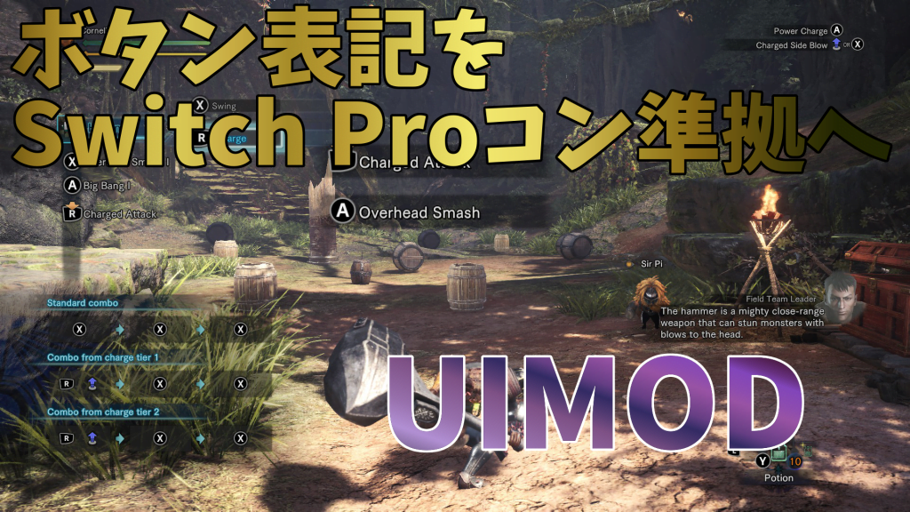 Switch Pro Controller Prompts紹介