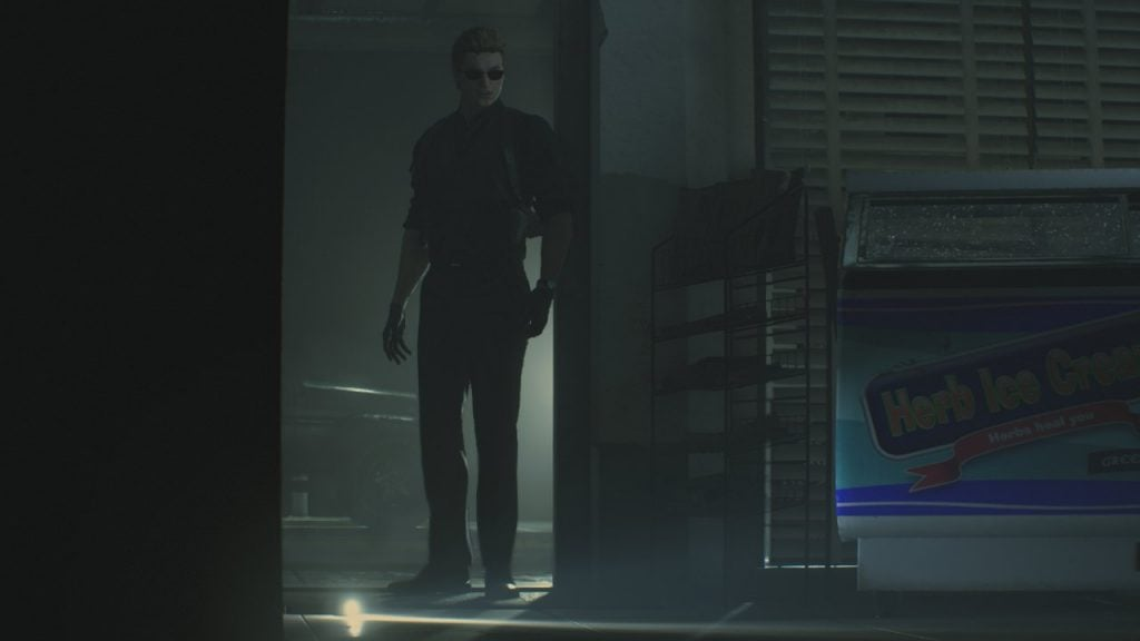 Leon Wesker STARS uniform紹介2