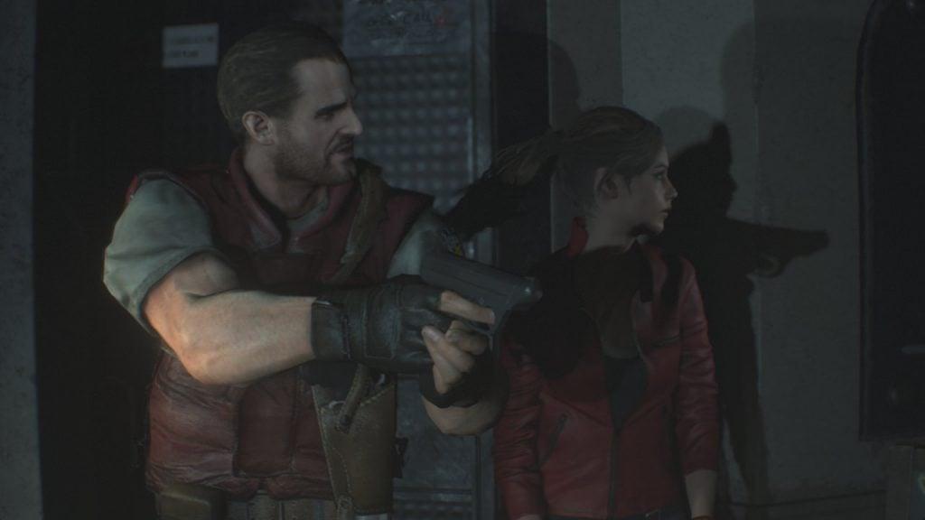 Resident evil 2 Barry Burton STARS紹介2