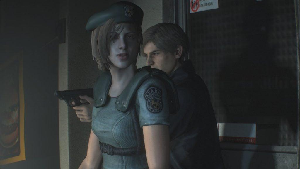 Resident evil 2 Remake - Jill Valentine STARS紹介2