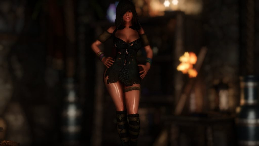 DX Gwelda Witch Outfit