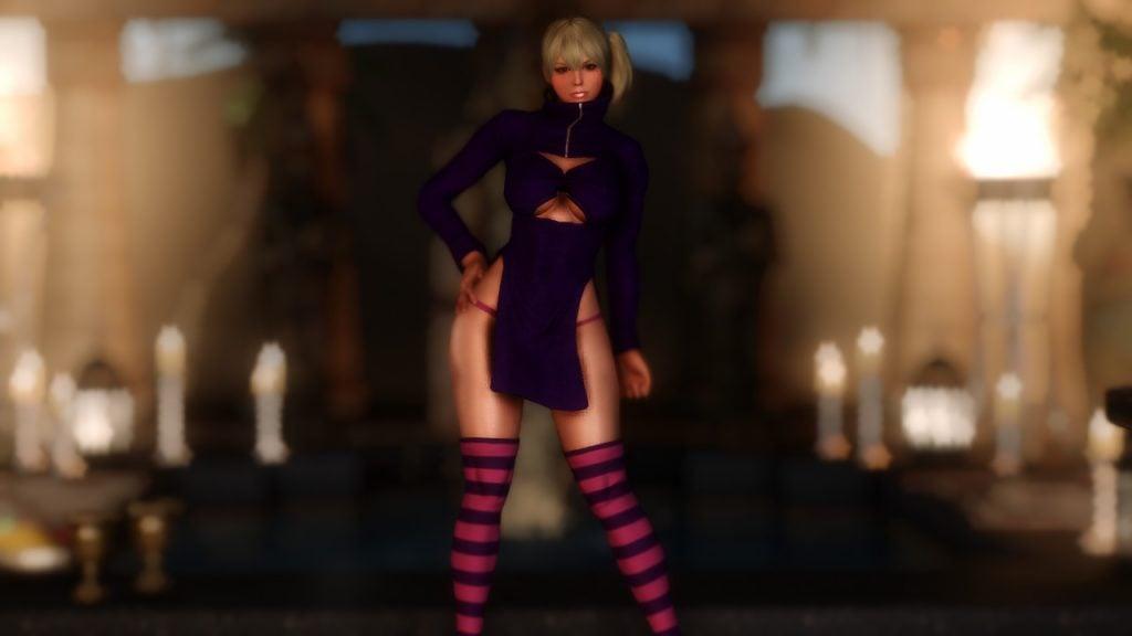 Under the Witch Dealer robe