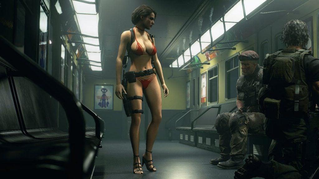 Jill Hot Bikini