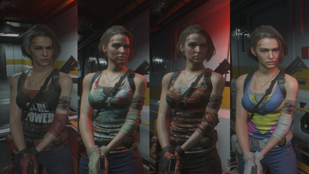 Jill - Resistance Costume Pack